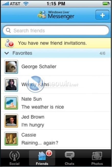 Live Messenger para iPhone está em desenvolvimento –