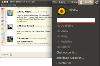 Ubuntu. Muito mais social.