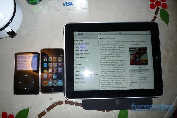 iPad e família.