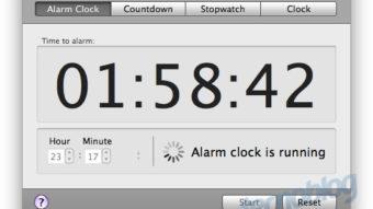 Como ter um alarme ou despertador no Mac