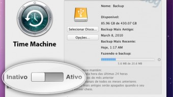 Como mudar a frequência de backups da Time Machine