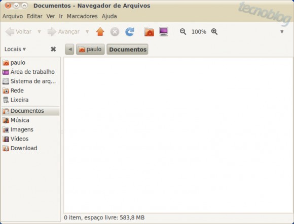 Ver la barra de ruta en Ubuntu Linux