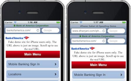 Les failles présentes dans plusieurs versions d'iOS