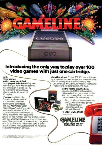 """""""Apresentando a única maneira de jogar mais de 100 games com apenas um cartucho"""""""