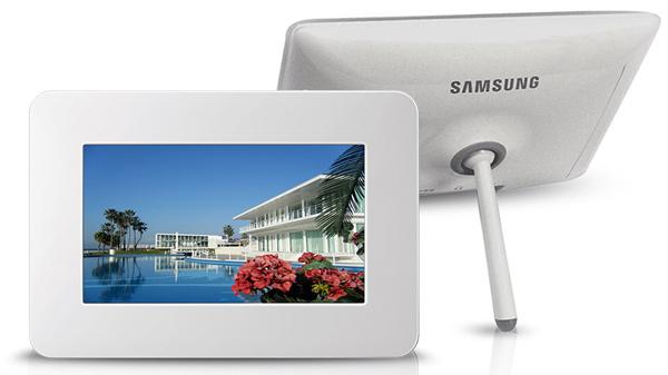 Sugestão de presente para o Dia das Mães: porta-retrato Samsung de 7 polegadas