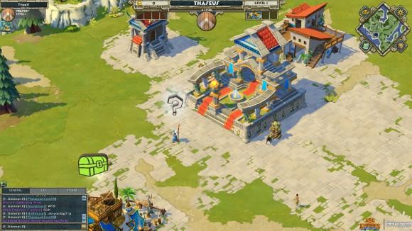 Age of Empires Online: captura de tela do jogo
