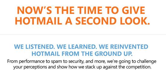 Hotmail de cara nova e com acesso offline no algo impossvel convite enviado para jornalistas stopboris Choice Image