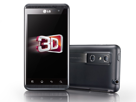LG Optimus 3D: irá receber Ice Cream Sandwich