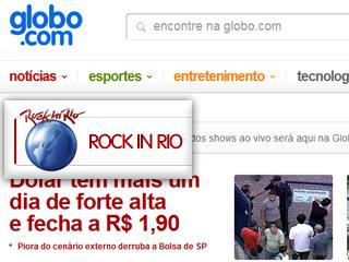 Globo proíbe Rock in Rio no YouTube