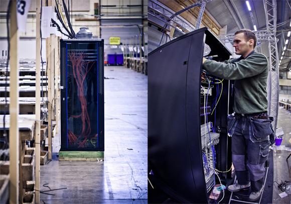 Funcionário da Cisco monta servidor na DreamHack   Crédito: Daniel 'M1n1M0nk3y' Nilsson