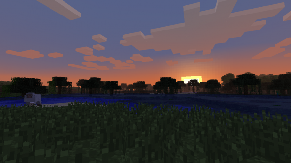Ah, o pôr do sol.