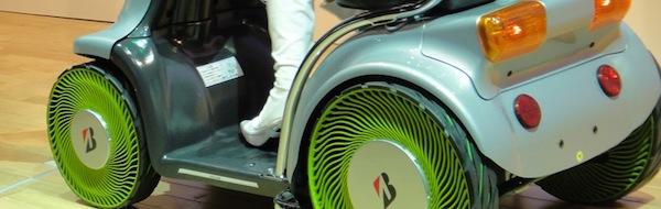 Air-Free Tyres, protótipo da nova geração de pneus da Bridgestone