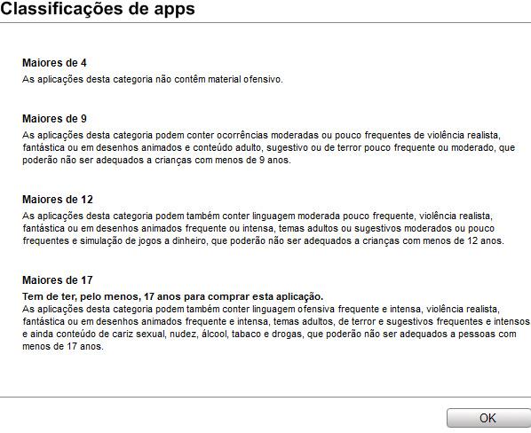 jogos - Apple libera jogos na App Store brasileira Classificacao-apps-itunes