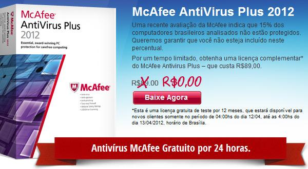 antivirus gratis mcafee baixaki