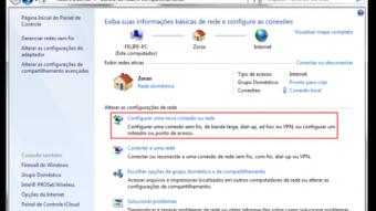Windows 7 — Como compartilhar a internet por meio do Wi-Fi