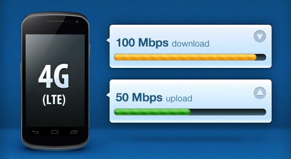 4G LTE pode chegar a 100 Mbps — clique para ver o infográfico especial