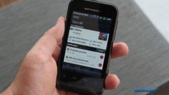 Motorola Defy Mini dual-chip, a opção para usuários desastrados