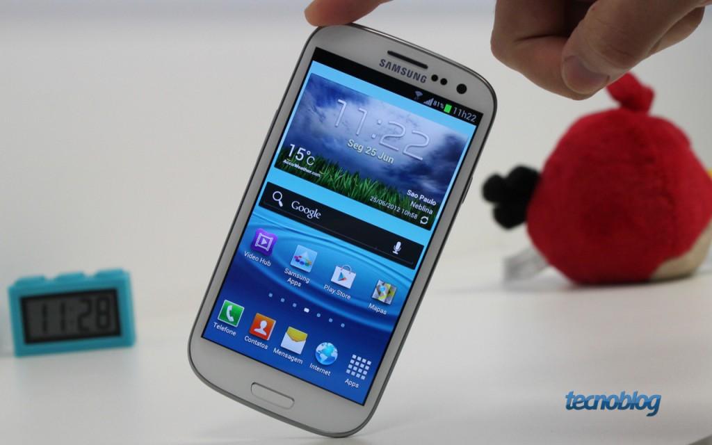 Galaxy S III vendido no Brasil não receberá atualização para o KitKat por falta de RAM – Tecnoblog