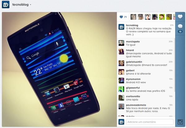 Em breve no Windows Phone