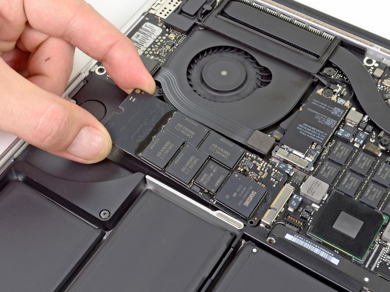 Desmanche do MacBook Pro com tela Retina mostra que ele não foi feito para ser atualizado ...