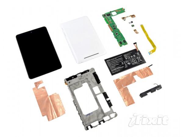 Nexus 7 desmontadinho