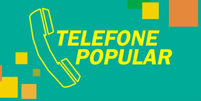 telefone popular/reprodução