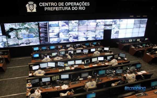 Centro de Operações Rio (foto: Thássius Veloso / Tecnoblog)