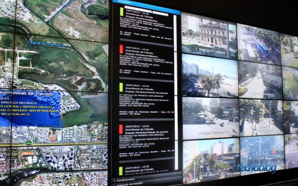 """""""Timeline"""" mostra últimos incidentes na cidade (foto: Thássius Veloso / Tecnoblog)"""
