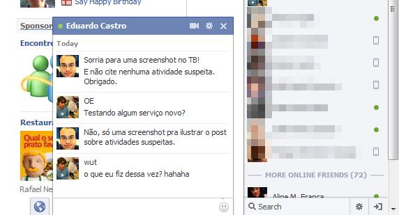 Facebook Monitora Chats Para Detectar Atividades Suspeitas Tecnoblog