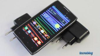 Motorola RAZR MAXX, a bateria que roda Android