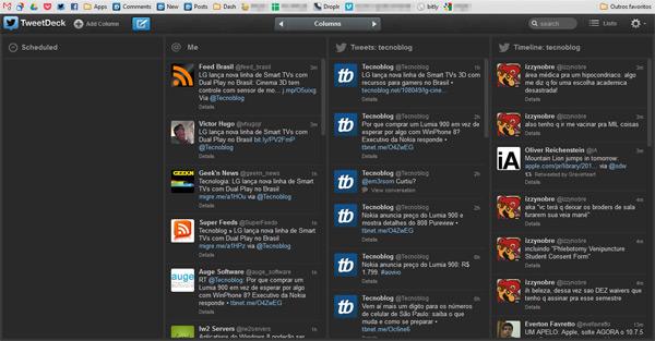 TweetDeck: comprado pela empresa Twitter Inc.