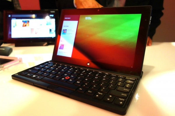 Lenovo ThinkPad Tablet 2 roda Windows 8 Professional (Foto: Gizmodo)