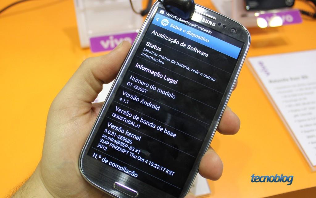 Galaxy S III com 4G funcionando na Vivo