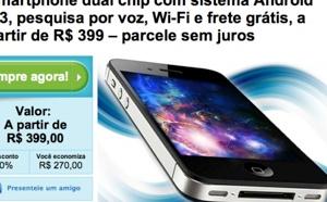 Genérico do iPhone à venda no Groupon (foto: reprodução Gizmodo.com.br)