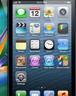 iPhone 5 roda iOS 6