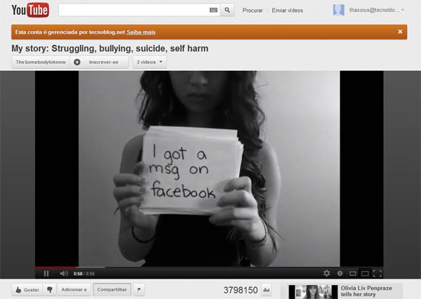 Cyberbullying leva adolescente de 15 anos ao suicídio