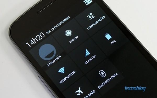 Galaxy Nexus com Android 4.2 (Jelly Bean) (Imagem: Tecnoblog)