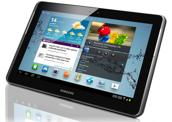 """Galaxy Tab 2 de 10,1"""""""