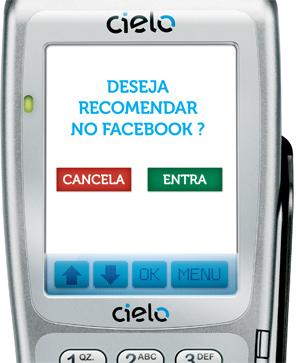 Consumidor faz check-in e recomenda estabelecimento (imagem: divulgação)