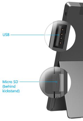 Aceitam-se drives USB e cartões de memória