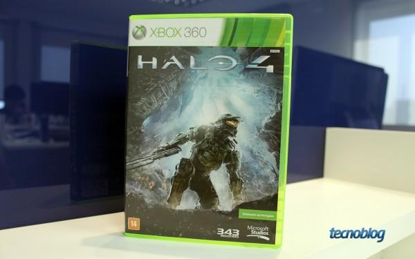 Halo 4 (foto: Thássius Veloso / Tecnoblog)