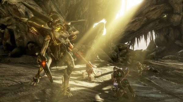 Diga olá para um Knight, forma mais agressiva dos Prometheans.