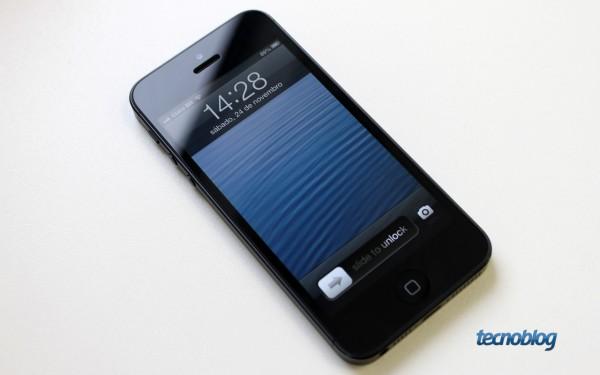 iPhone 5 em visita à redação do Tecnoblog