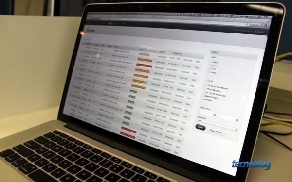 Sistema de gerenciamento de pedidos - Foto: Thássius Veloso / Tecnoblog