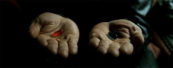 Escolha a pílula