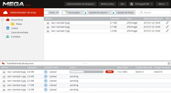 mega-upload-arquivos