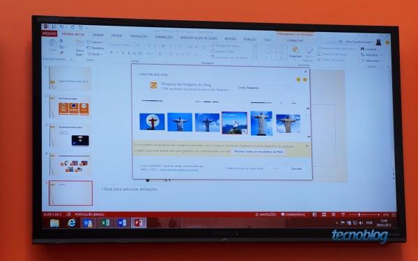Mão na roda: Office 2013 faz busca por imagens usando o Bing e pode exibir imagens licenciadas sob a Creative Commons