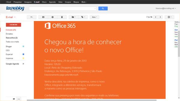 Microsoft convida