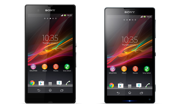 Sony Xperia Z e Xperia ZL: tela Full HD de 5 polegadas