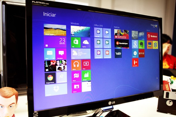 Windows 8 (foto: Thássius Veloso / Tecnoblog)